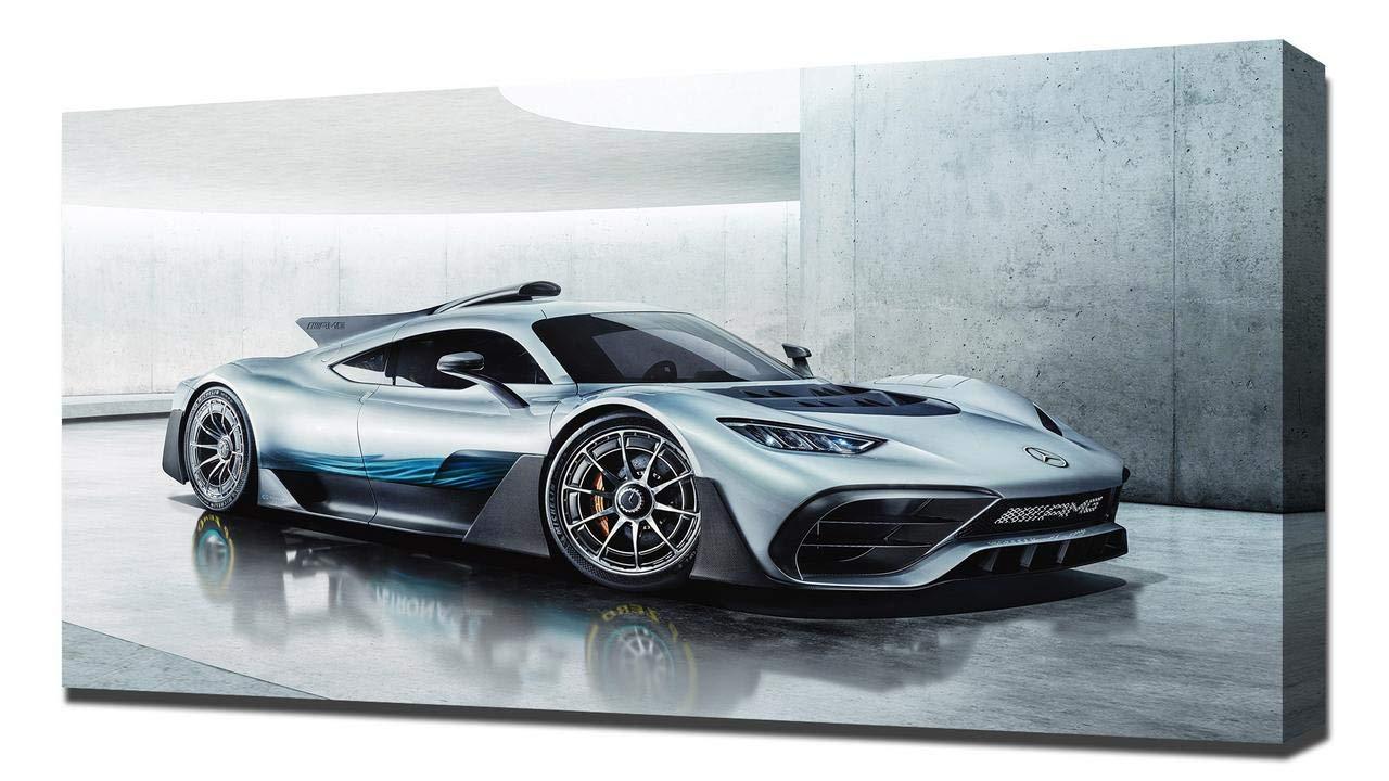 Lilarama 2017 Mercedes Mercedes Mercedes AMG Project ONE Concept V9 - Art Leinwandbild - Kunstdrucke - Gemälde Wandbilder d9e673
