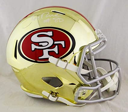 b389fabf8 Image Unavailable. Image not available for. Color  Jerry Rice  80 Autographed  San Francisco 49ers ...