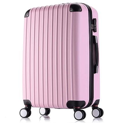 Maleta de equipaje Estuche rígido y rígido de 4 ruedas Spinner ABS Viaje Trolley Maleta Juego