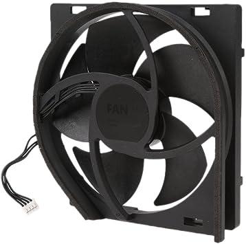 Amazon.es: Gazechimp Ventilador de Refrigeración Consola XBOX ONE Slim usada para Reemplazar Ventilador roto de Plàstico