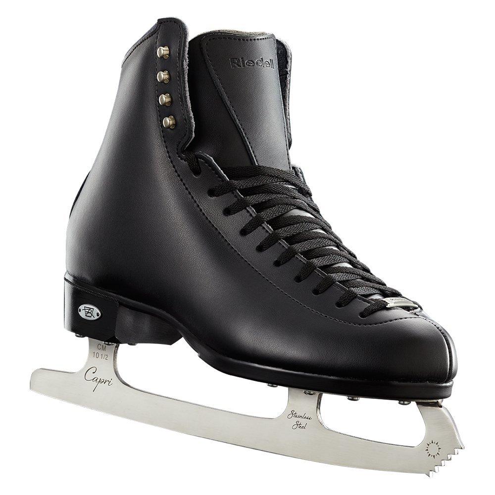 Riedell  133 Diamond Skating Boots, Black, D 12