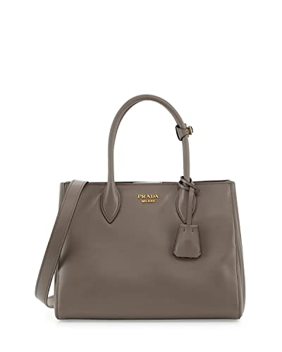 5bf12a9067ce Prada Bibliotheque City Calf Shopping 1BG098 Argilla Tote  Handbags ...