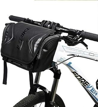 LOY Bolsa para Manillar de Ciclismo - Bolsa para Guardar Bici con ...