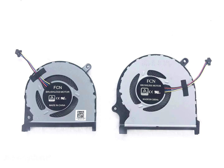 Ventilador CPU GPU Dell Inspiron 15-7591 7590 Set DP/N 0MPHWF 08