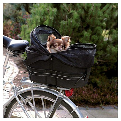【ドイツTRIXIE】 自転車に取り付けるキャリーバッグ!ドイツTRIXIE バスケットバイシクルキャリーバッグ B01DVZUFPU