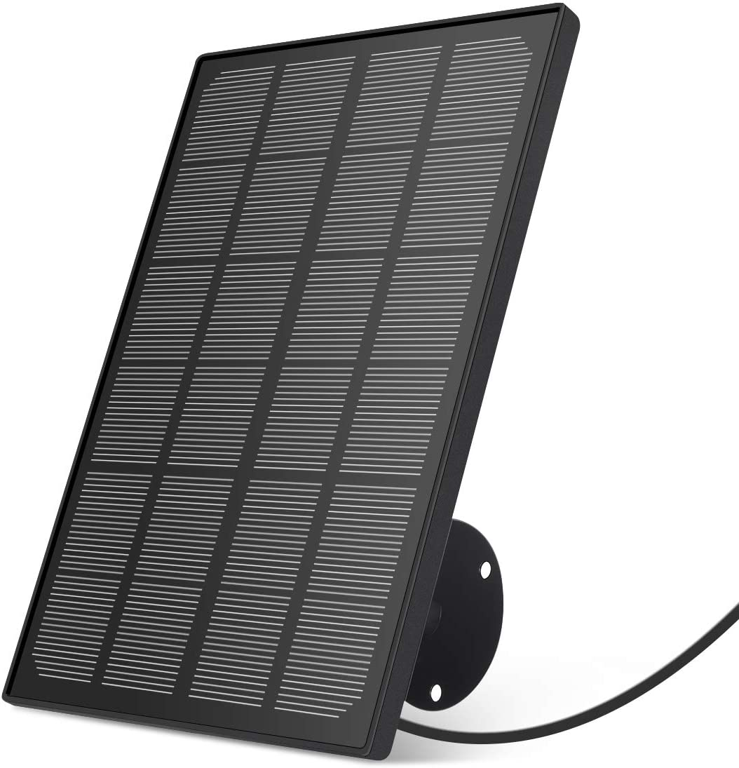 Solar Panel Power Supply for MECO Wireless Outdoor Security Camera