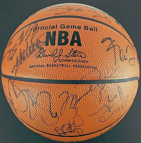 Jordan-Kobe-Magic-Shaq-Duncan-Miller-Signed-Basketball-JSA-Certified