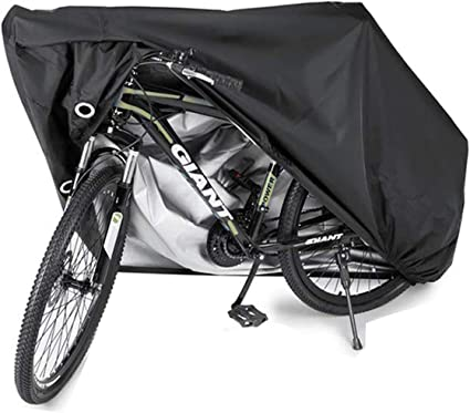 Large Waterproof Bicycle Cycle Bike Cover Outdoor Rain Sun Protector For 2 Bikes