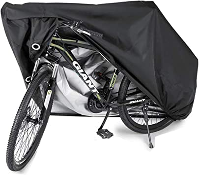 Bike Cover Waterproof  for 2 Bikes Bicycle Covers High Density and Durability