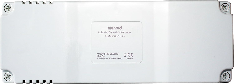Menred ls6.2 controllo riscaldamento pavimento set 11 pezzi ls6.2-set11