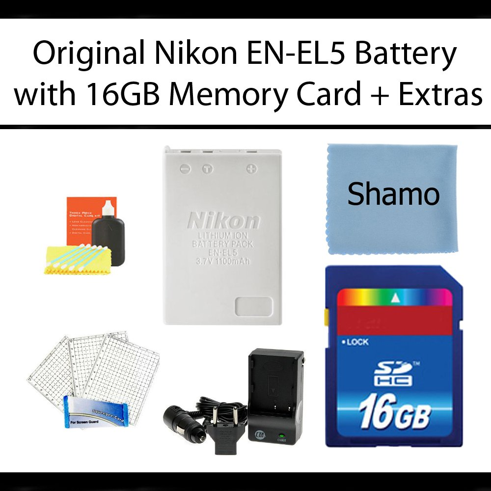 Original Nikon EN-EL5 Lithium-Ion Camera Battery for Nikon