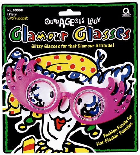Outrageous Lady Pink Glamour - Glasses Glamour