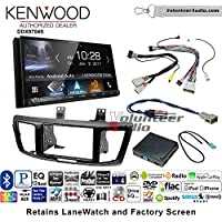Volunteer Audio Kenwood DDX9704S Double Din Radio Install Kit with Apple Carplay Android Auto Fits 2013-2015 Honda Accord