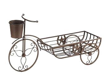 Sunshine Megastore Lonestar Horseshoe Bicycle Planter Plant Stand