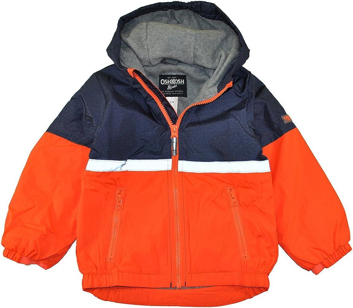 OshKosh BGosh Boys Blue Midweight Active Fleece Lined Jacket