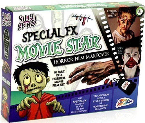 Grafix Special Fx Movie Star - Horror Film Makeover (Zipper Fx Kit Halloween)
