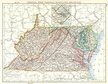 Amazon.com: USA: Virginia, West Virginia, Maryland, Delaware ...