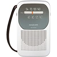 コイズミ AMラジオ シルバー SAD-7224/S