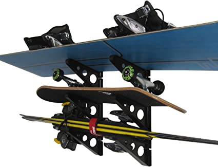 StoreYourBoard by StoreYourBoard Ski and Snowboard Storage Rack