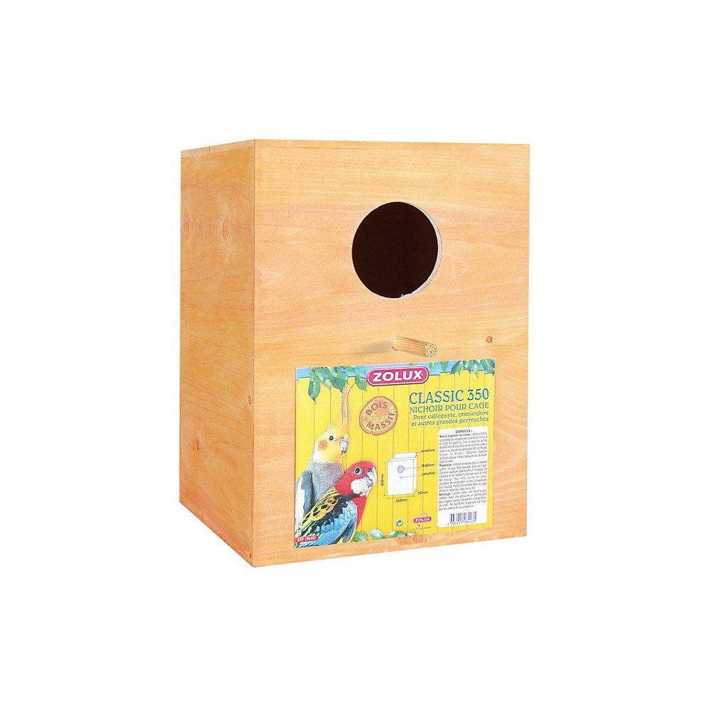 Zolux nido scatola Classic XXL 350per uccelli 3336021264235