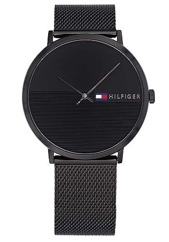 Tommy Hilfiger Reloj Analógico para Hombre de Cuarzo con Correa en Acero Inoxidable 1791464: Amazon.es: Relojes