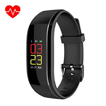 Montre Connectée, NIANPU Fitness Tracker dActivité IP67 Smartwatch Cardio Podomètre Sport Smart Watch