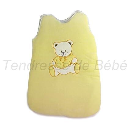 Amarillo bebé saco de dormir – oso