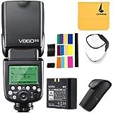 GODOX V860II-C Pioneering 2.4G Wireless E-TTL II Li-on Camera Flash Speedlite Compatible for Canon 6D 50D 60D 1DX 580EX II 5D