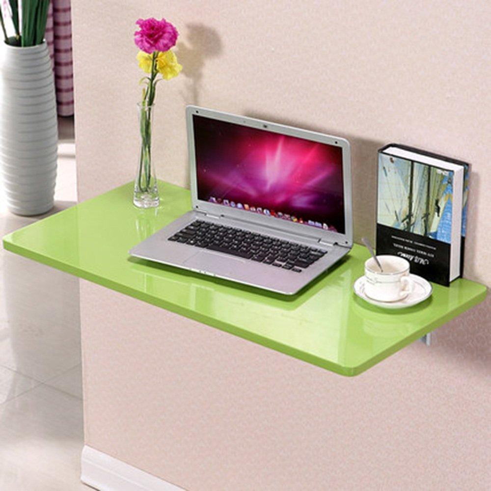 マチョン コンピュータデスク シンプルな壁に取り付けられたデスクコーナーデスクの壁コンピュータのデスクの壁のデスク (色 : Green, サイズ さいず : 120cm*40cm) B07DS731Y1 120cm*40cm|Green Green 120cm*40cm