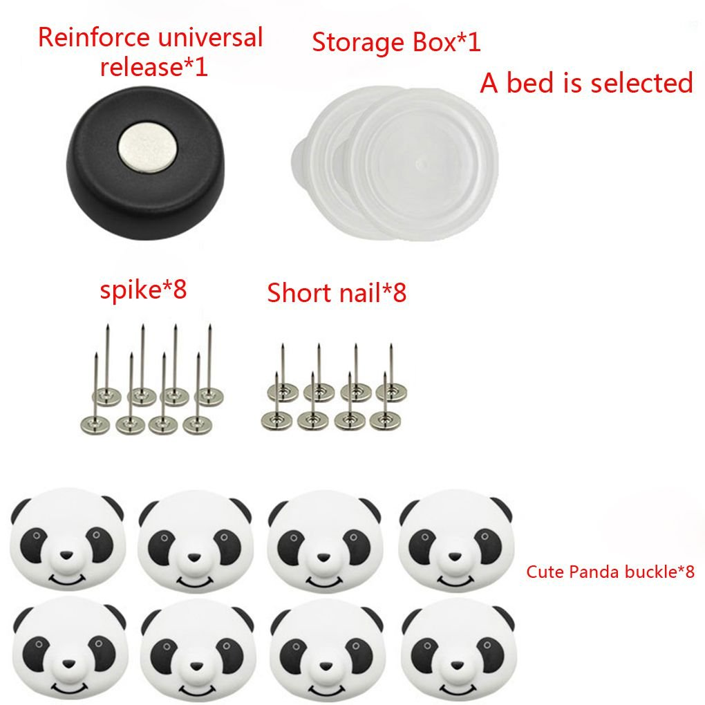Xuanhemen Home Hotel Cartoon Quilt Fixator Blanket Pins Fixed Button Magnetic Duvet Clips Beddings Fasteners Unclasp