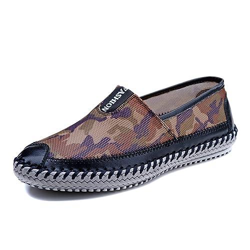 Zapatos verano hombres sports network/Zapatos de malla transpirable/zapatos casuales/ Zapatos Camo-B Longitud del pie=25.8CM(10.2Inch)  Blanco z5iQFuh
