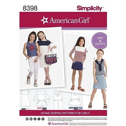 Amazon.com: Simplicity Pattern d0681/8398 – Pantalones del ...