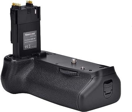 Newmowa Mango de Repuesto Battery Grip para Canon EOS 6D Cámara ...
