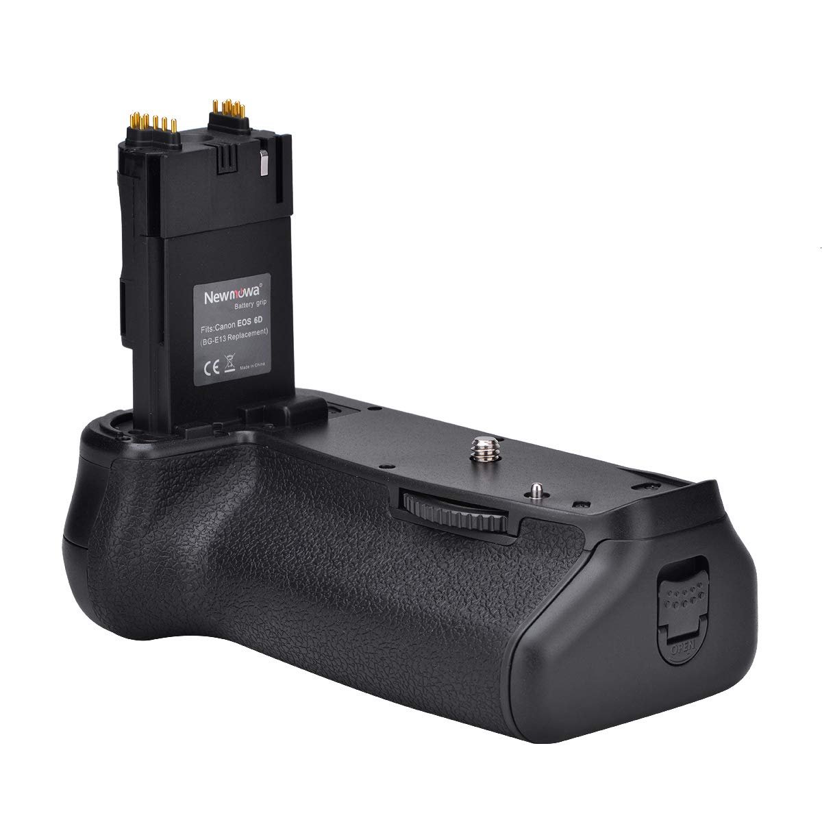 Newmowa BG-E13 Replacement Vertical Battery Grip for Canon EOS 6D Digital SLR Camera by Newmowa