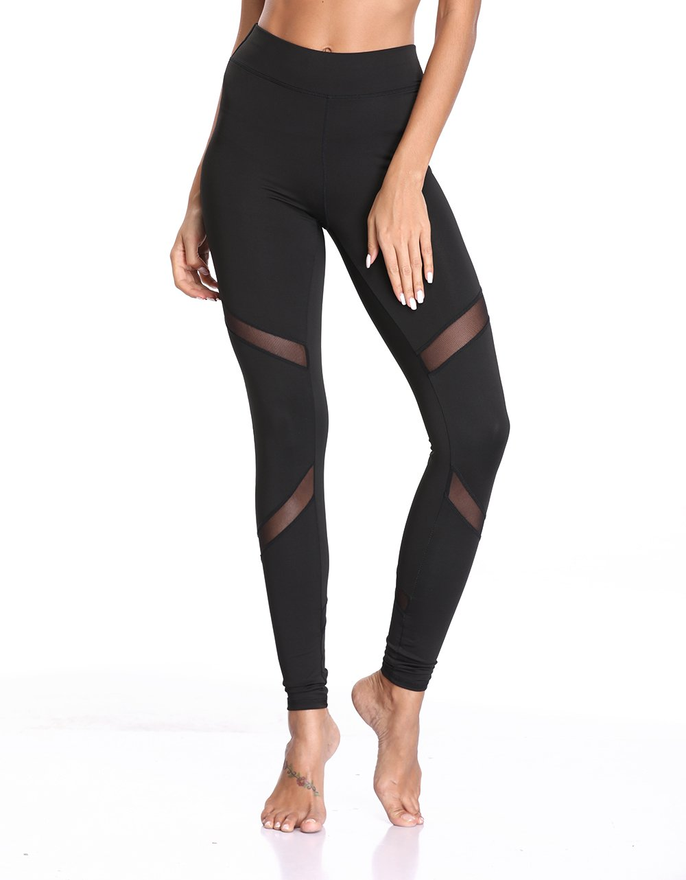 378fa1bfedba5 This high waist tummy control leggings are perfect for yoga, cycling,  aerobics, gymnastics, running, jogging, fitness, or daily casual lounge use  leaving ...