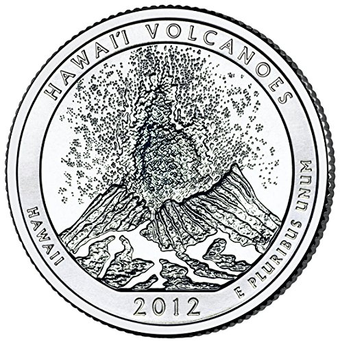 2012 D Hawaii Volcanoes National Park Quarter Choice Uncirculated