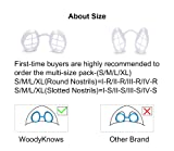 WoodyKnows Ultra Breathable Nasal Mask, Allergy