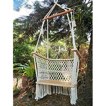 hammock beige hangahammockcollective cushion swing photo chair products cream studio baby in macrame ivory color