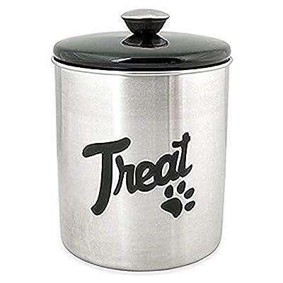 Buddy's Line Stainless Steel Top Treat Jar