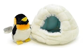 AQUA ぬいぐるみ マリン エスキモーハウス ミニ ペンギン 00130122
