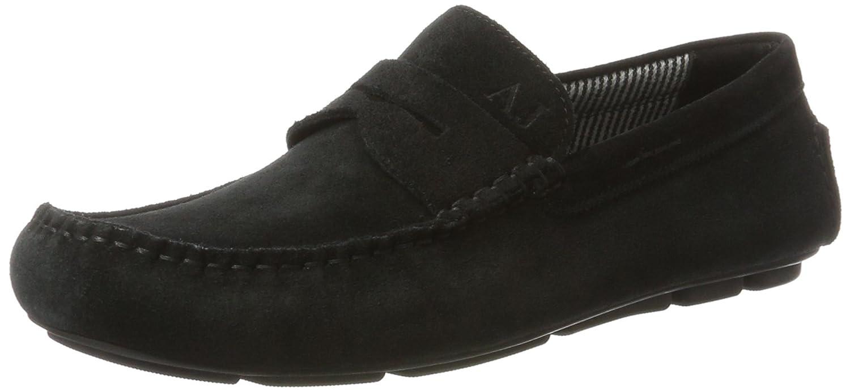 Armani Jeans 935588CC555, Mocasines para Hombre, Negro (Nero), 44 EU: Amazon.es: Zapatos y complementos