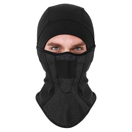 d3b3c90e415 SHINYMOD Balaclava - Windproof Ski Mask Winter Cold Weather Face Motorcycle Mask  Snowboard Cycling Hat Hunting