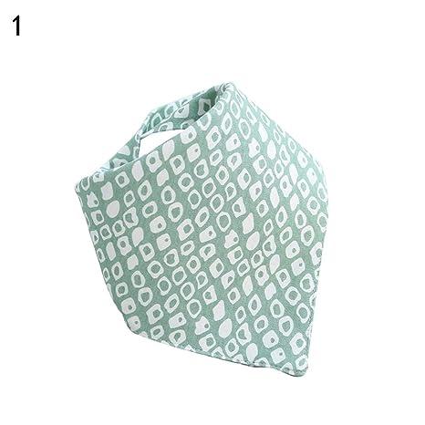 Steellwingsf - Babero de algodón para recién nacido, diseño de hojas ...