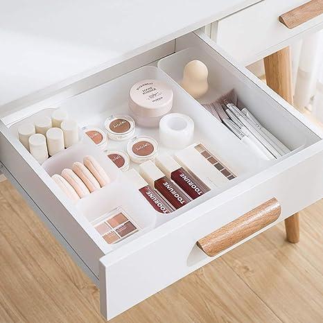 Amazon Com Poeland Drawer Organizer Tray Storage Box For Bedroom Dresser Bathroom Kitchen Home Kitchen