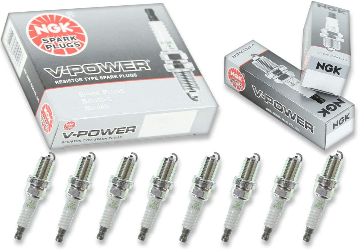 8 pcs NGK V-Power Spark Plugs for 2005-2006 Audi A6 Quattro 4.2L V8 4.2L si