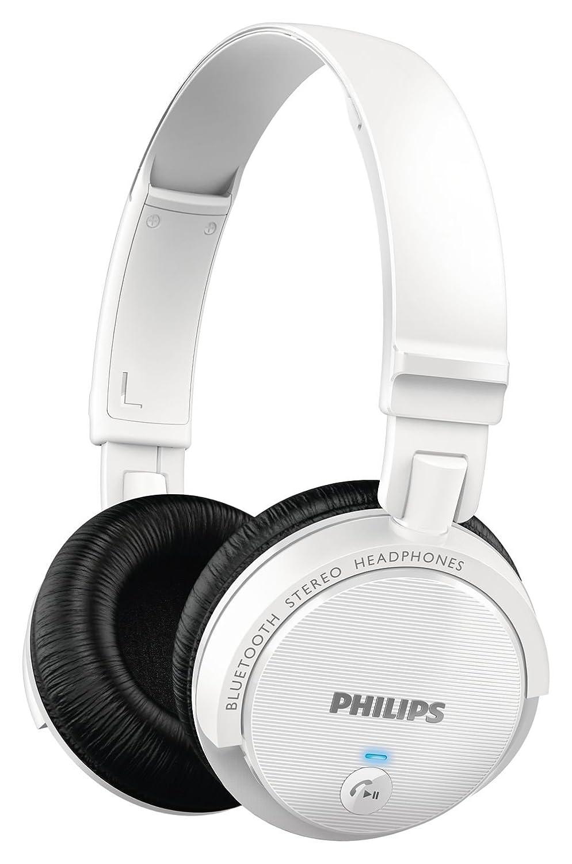 Philips SHB5500WT/27 - Auriculares (Binaurale, Diadema, Negro, Color Blanco, Bluetooth, Circumaural, 10-22000 Hz): Amazon.es: Electrónica
