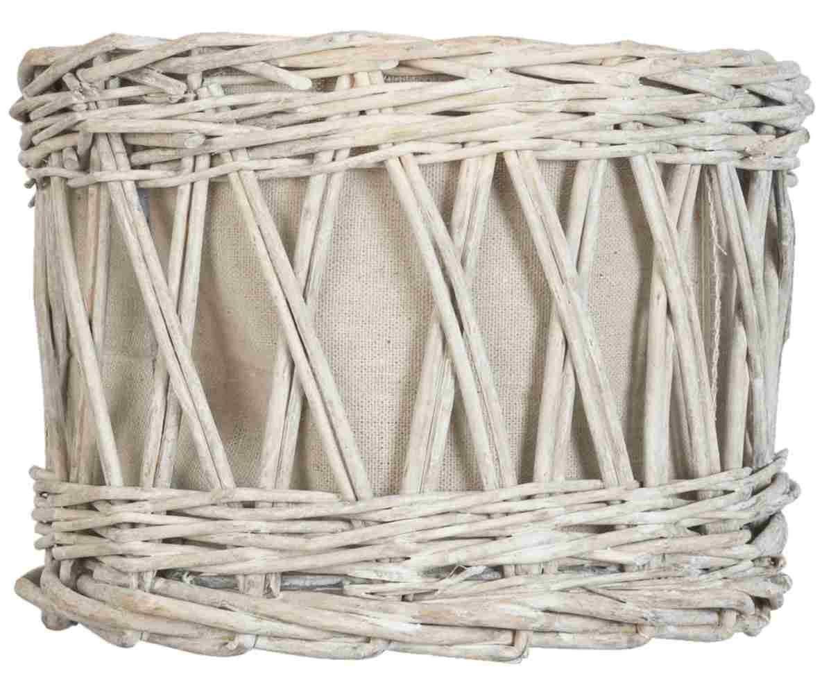 Clayre eef abat-jour en rotin &6RO0247 beige env. 25 x 14 cm Clayre & Eef