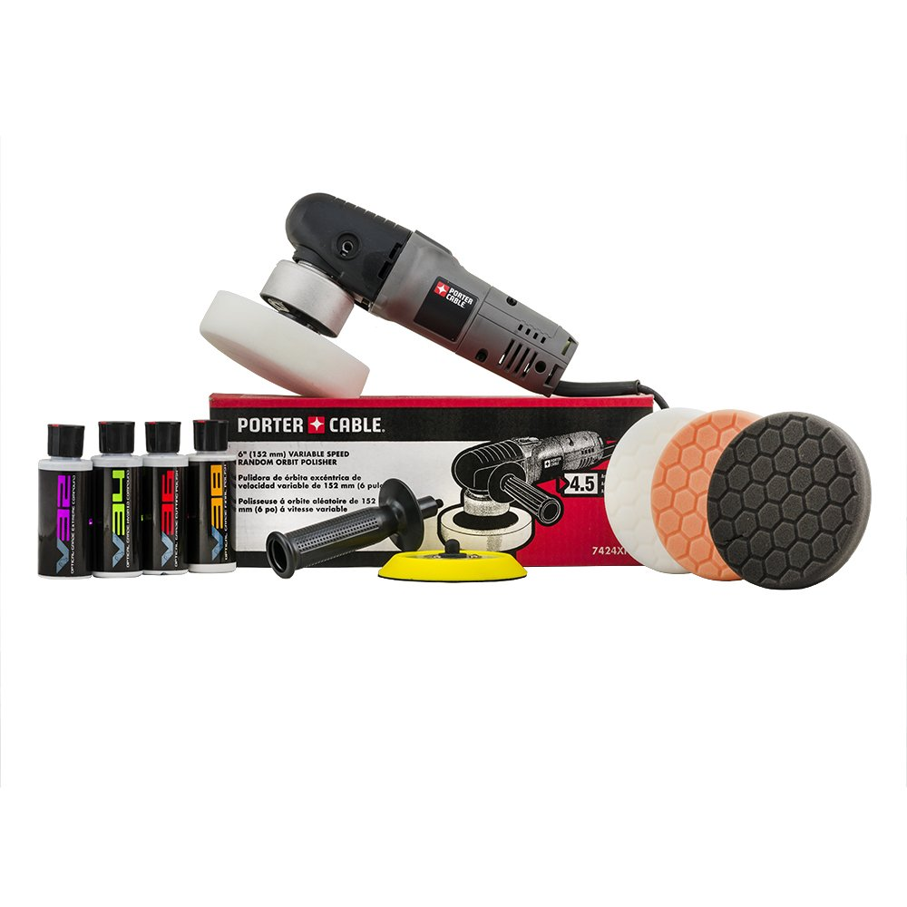 Chemical Guys BUF_2092 Porter Cable Detailing Kit (8 Item), 4. Fluid_Ounces by Chemical Guys (Image #1)