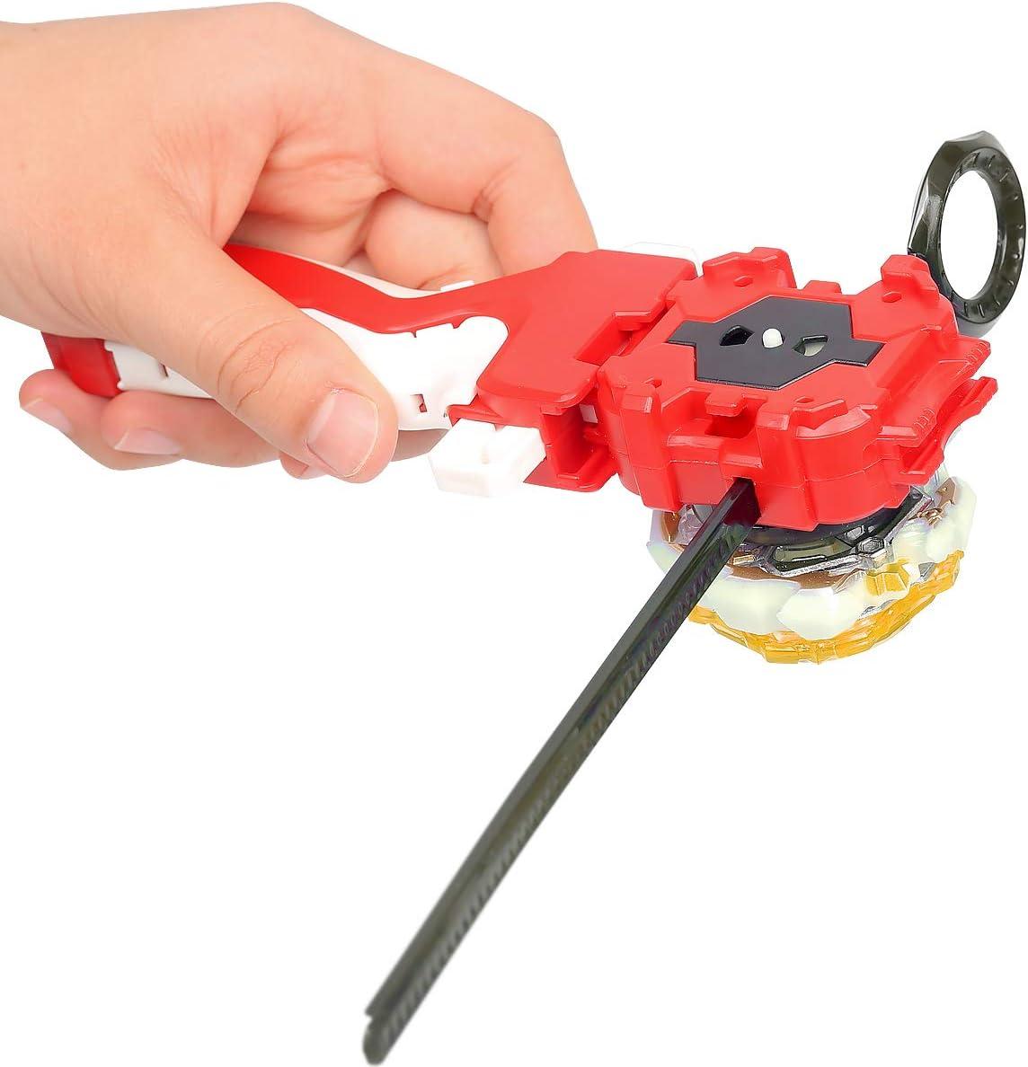 perfeclan Burst Launcher Izquierda Derecha Bidireccional Wire Launcher Burst Gyro Accesorios para Juegos Agarre /único