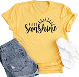 98c89971b Women Positive Vibes Only Letters Print T-Shirt Cute Pineapple Print  Graphic Tees Tops
